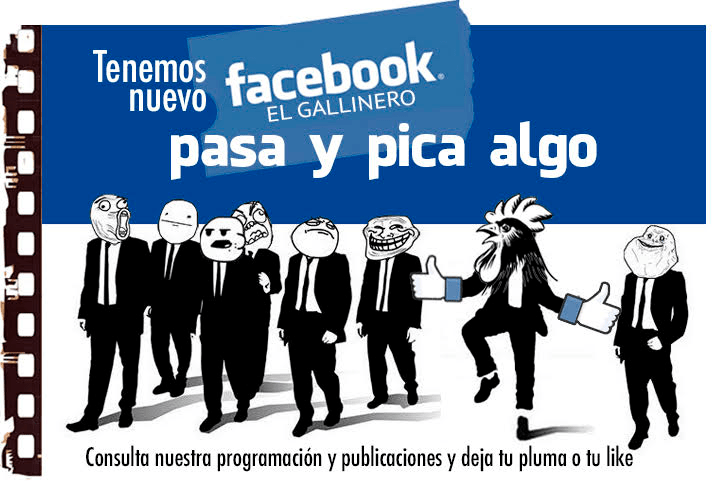 Nuevo Facebook del Cine Club el Gallinero