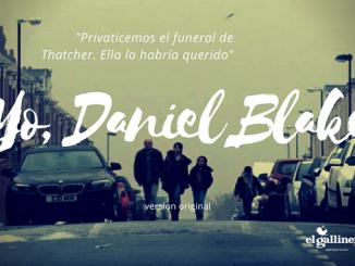Yo, DANIEL BLAKE, de Ken Loach esta semana en el Cine Club El Gallinero