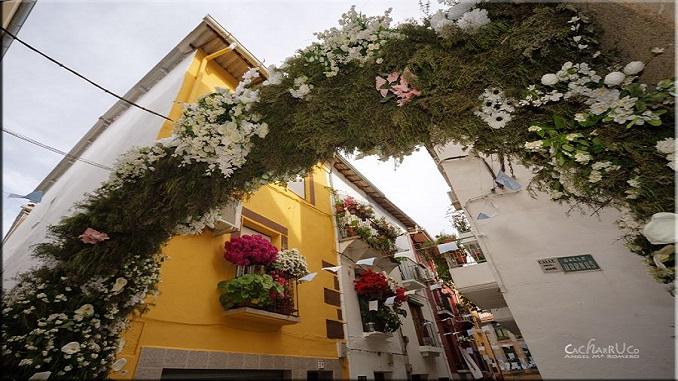Listado de las Procesiones de Ntra. Sra. del Salobrar - Arco de la Calle Vargas