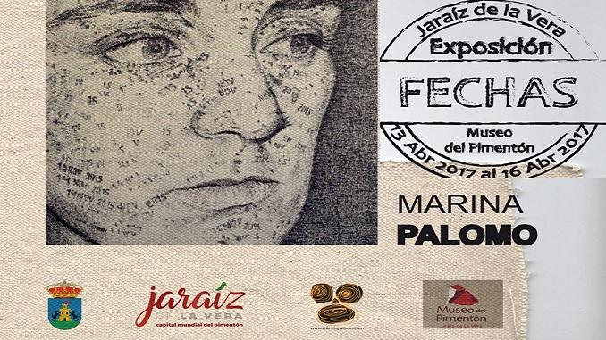 """Exposición """"Fechas"""" de Marina Palomo, en el Museo del Pimentón de Jaraíz de la Vera"""