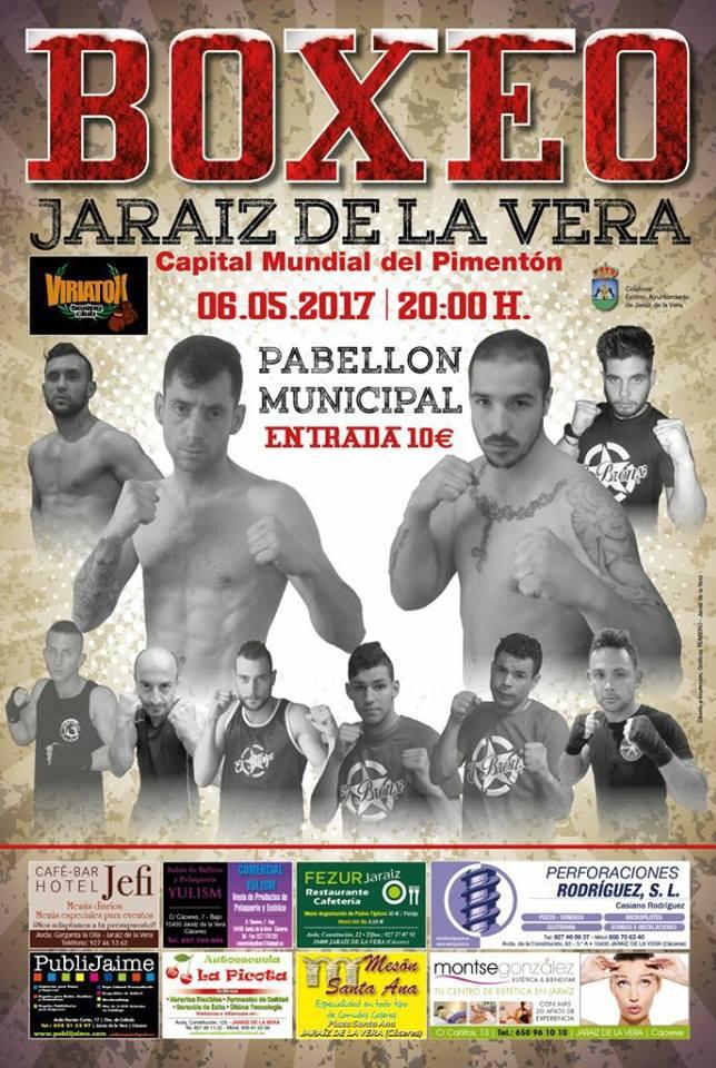 Boxeo en Jaraíz de la Vera - Capital Mundial del Pimentón