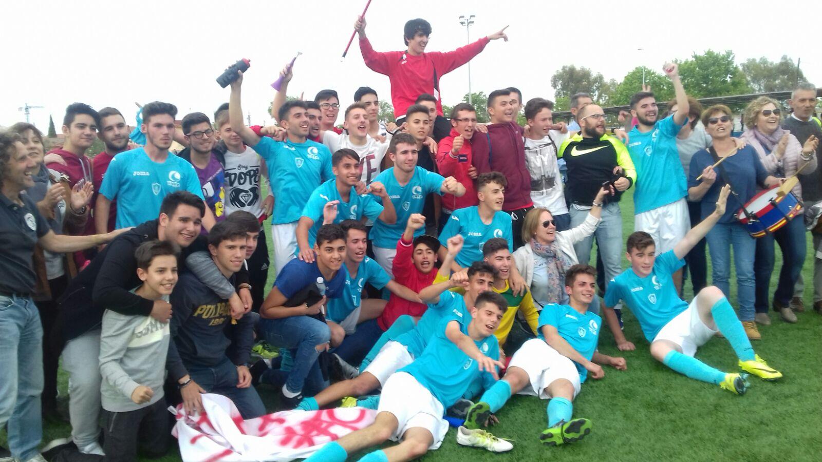 02 El C.F. Jaraíz Juvenil logra el ascenso a Primera División Juvenil Extremeña