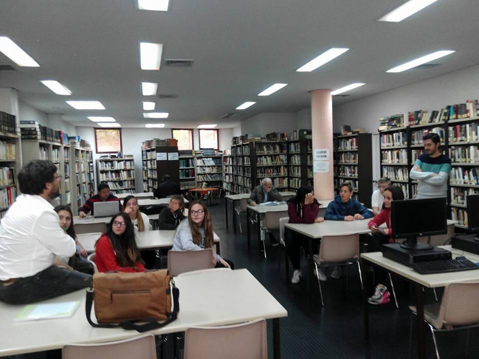 Aspace Jaraíz en la Biblioteca Municipal