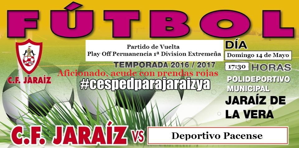 C.F. Jaraíz vs Deportivo Pacense