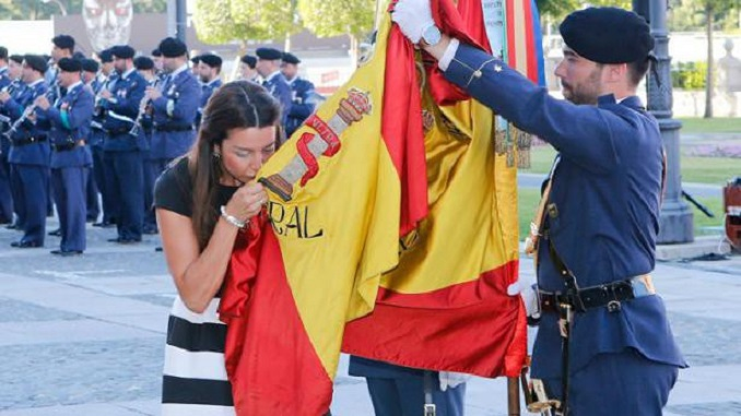 Jura de Bandera Civil el día 25 de junio en Cuacos de Yuste