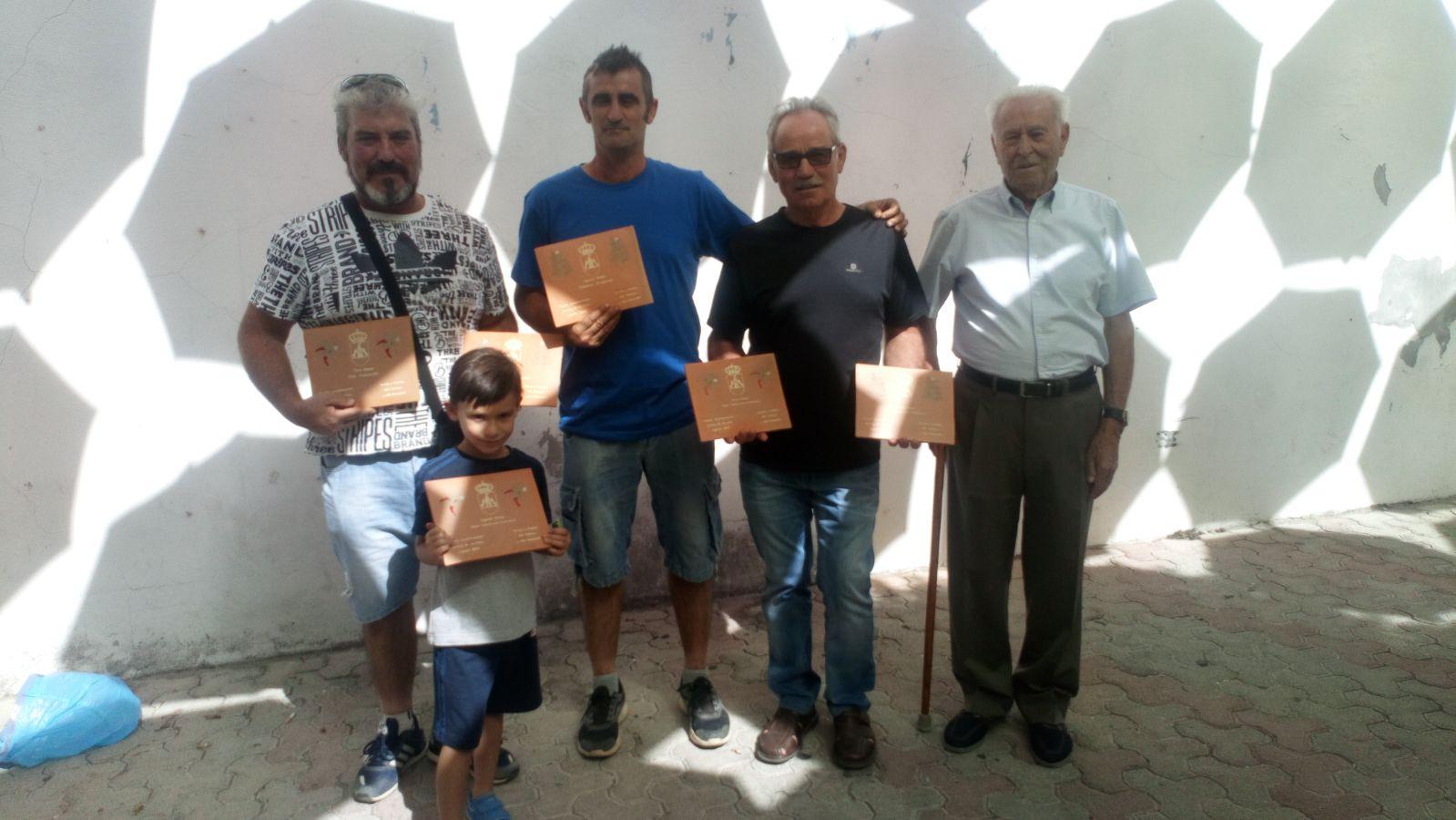 Ganadores del XLIV Concurso del Pimiento y del Tabaco de Jaraíz de la Vera