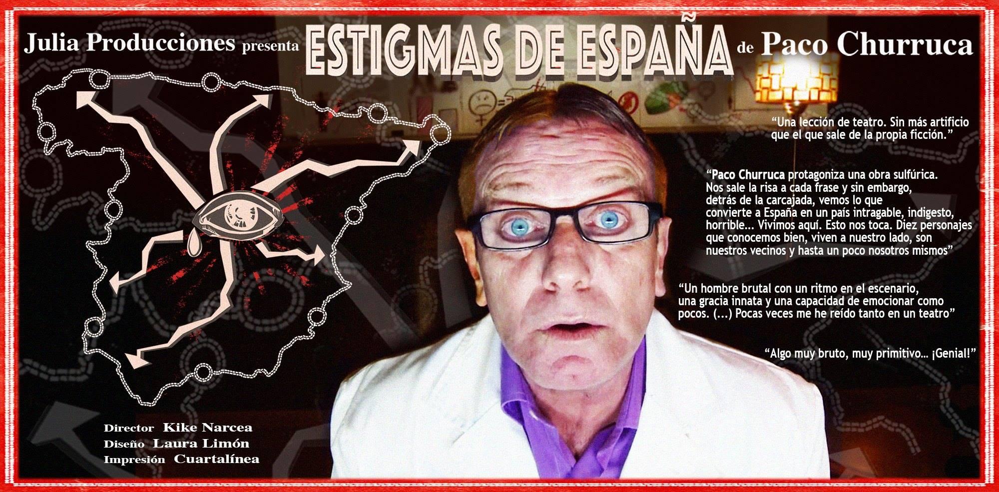 Estigmas de España con Paco Churruca