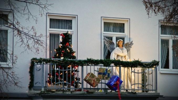 Decoraci Ef Bf Bdn De Balcones De Navidad
