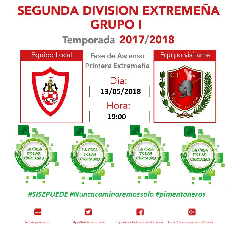 C.F. Jaraíz vs C.F. San Jorge
