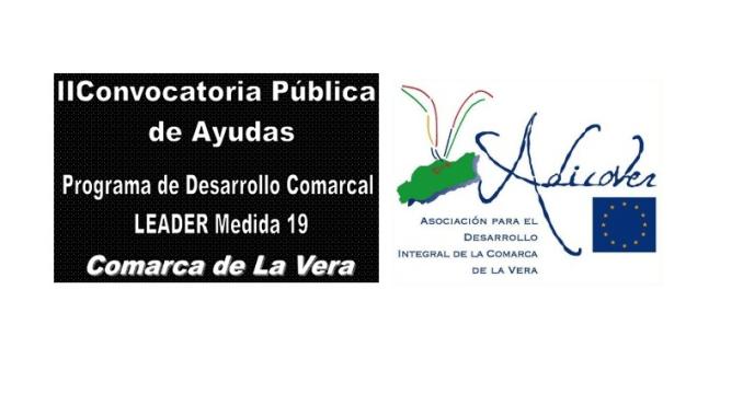 II Convocatoria Pública de Ayudas Programa de Desarrollo Comarcal LEADER MEDIDA 19 Comarca de la Vera