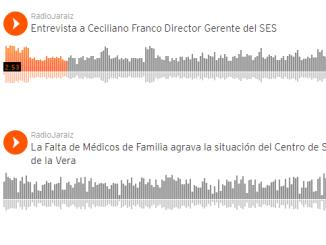 Entrevista a Ceciliano Franco Director Gerente del SES realizada por Radio Jaraíz