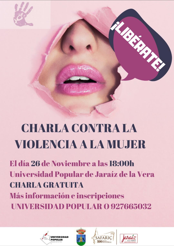 Charla contra la violencia a la mujer