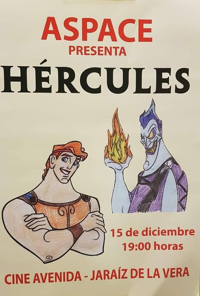 """Mañana sábado Aspace Jaraíz representará la obra de teatro """"Hércules"""""""