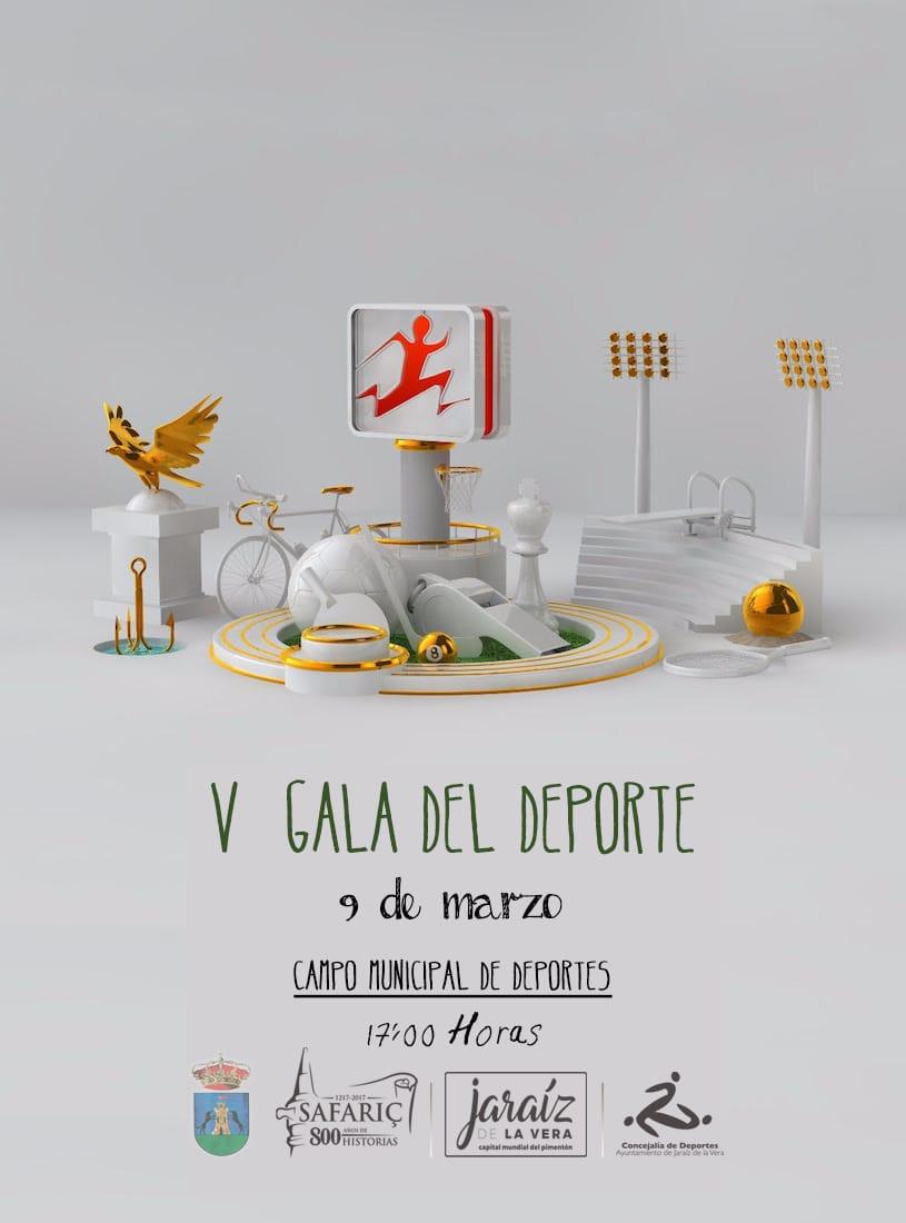 Esta tarde se celebrará la V Gala del deporte Jaraiceño en el Campo Municipal de Deportes