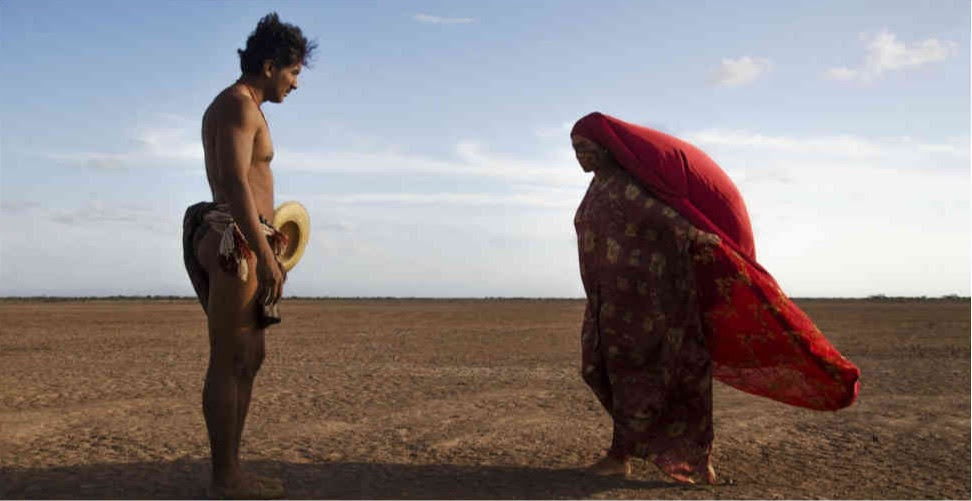'Pájaros de verano' de Ciro Guerra y Cristina Gallego en el Cineclub El Gallinero