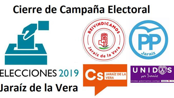 cierre de campaña elecciones 2019 Jaraiz de la Vera