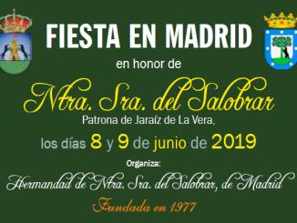 Fiesta en Madrid en honor de Ntra Sra del Salobrar