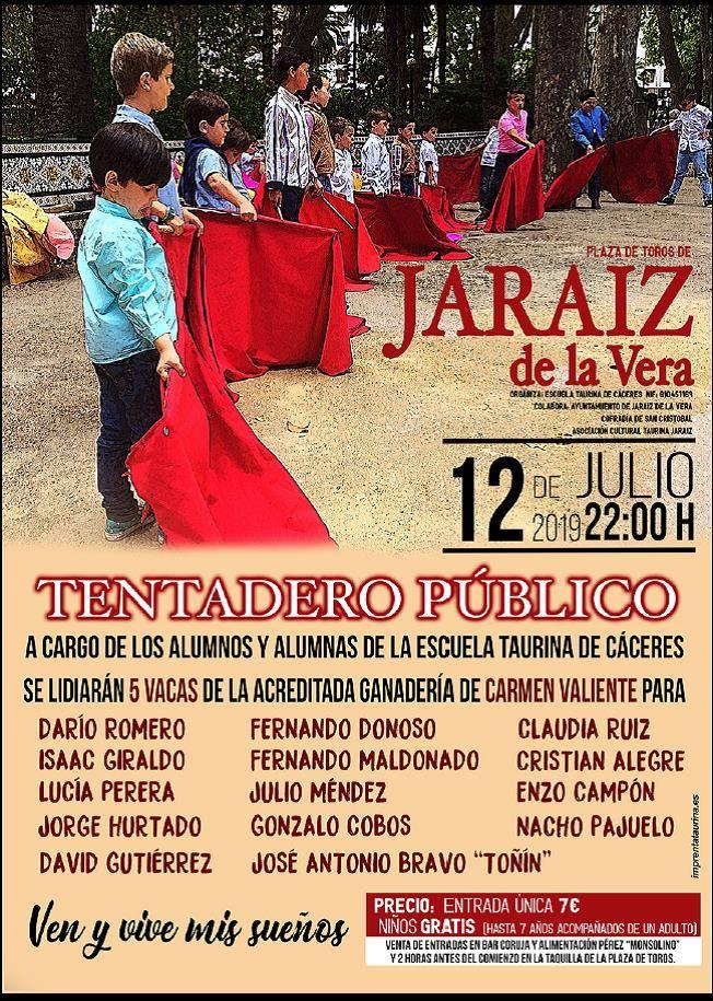 Tentadero Público con motivo de las Fiestas de San Cristóbal 2019