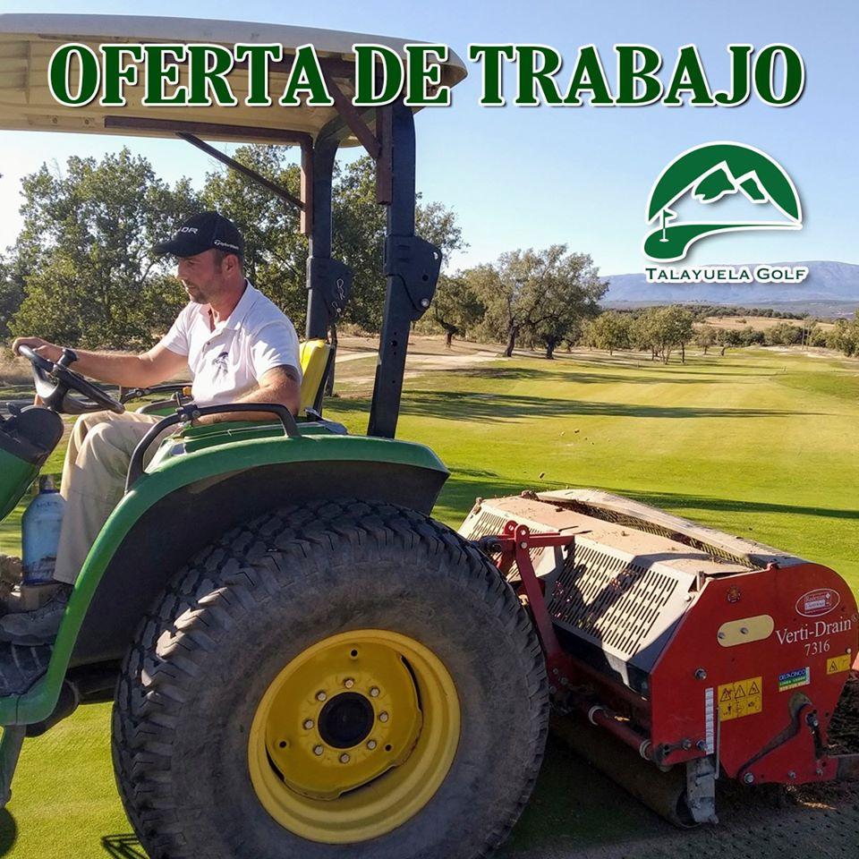 Oferta de Trabajo en Talayuela Golf