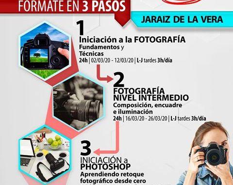 Cursos de Fotografía en Jaraíz