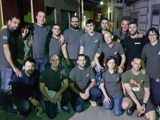 Los Balines, Peña Motera de Jaraíz de la Vera dona 900 mascarillas al Ayuntamiento