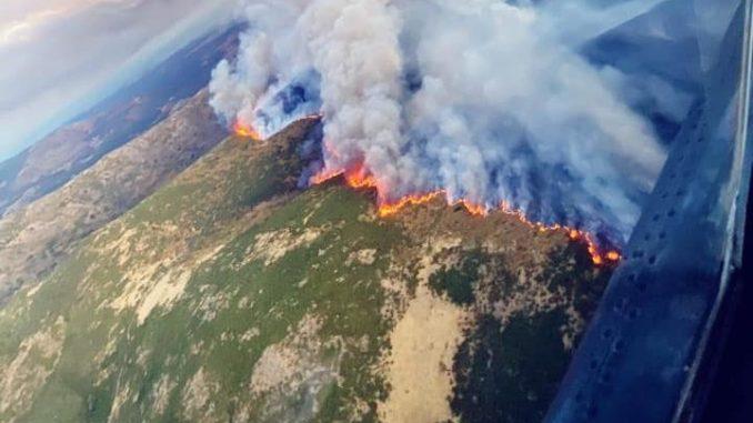 Incendio La Vera y El Jerte