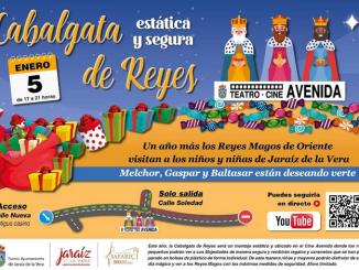 Cabalgata de Reyes magos 2021 - Jaraiz de la Vera
