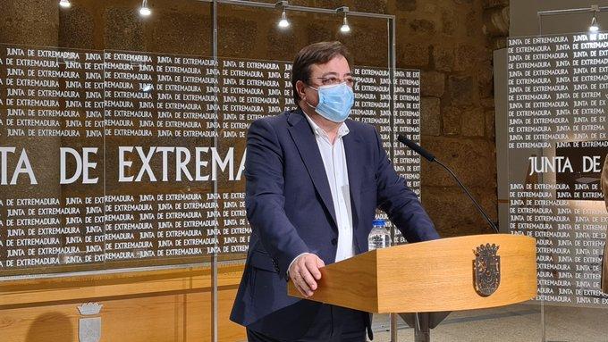 Presidente de la Junta de Extremadura, Guillermo Fernández Vara