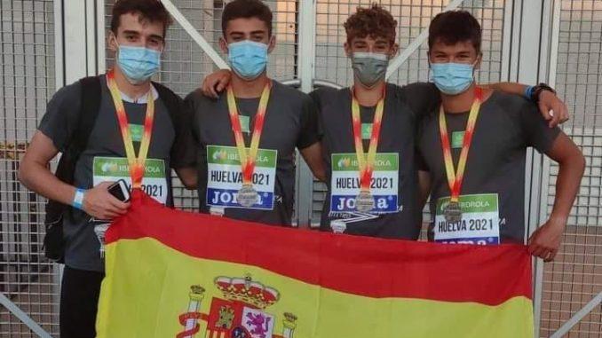 Plata para Nacho Paz Suárez en el Campeonato de España (1)