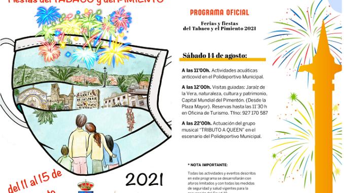 Sabado 14 - Fiestas del Tabaco y del Pimiento 2021