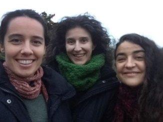 Susana, Laura y Ana