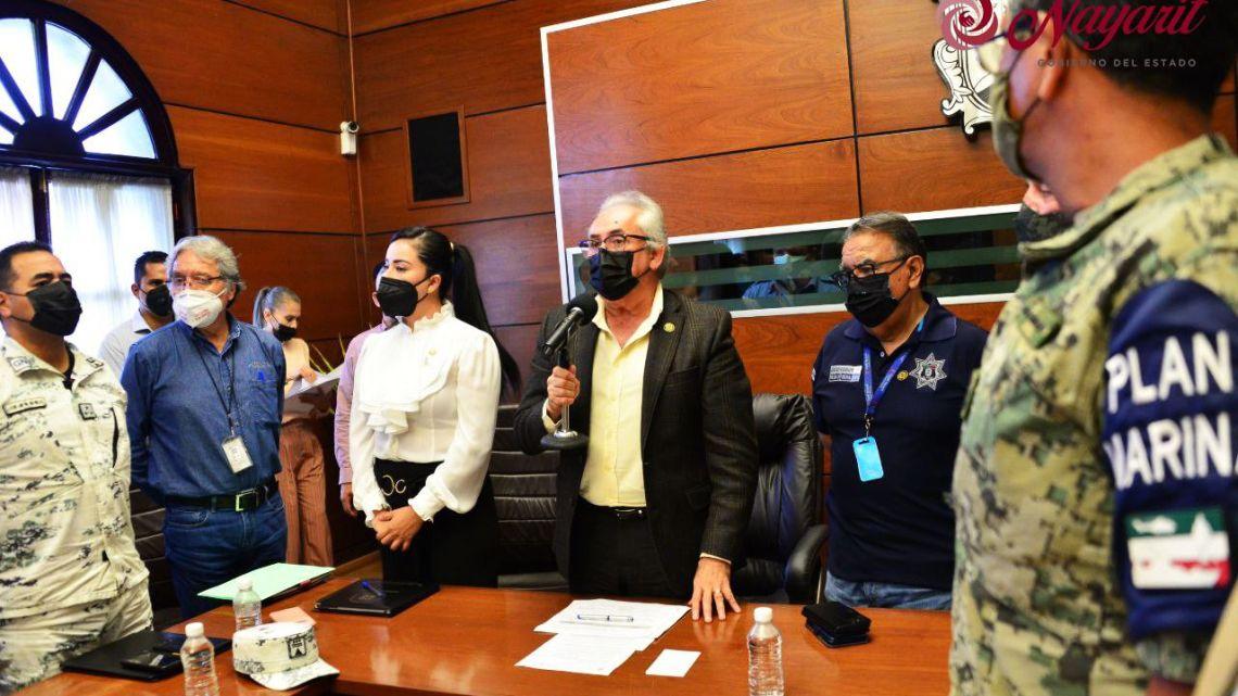 Quedó instalado y en sesión permanente, el Consejo Estatal de Protección Civil de Nayarit: Juan Echeagaray