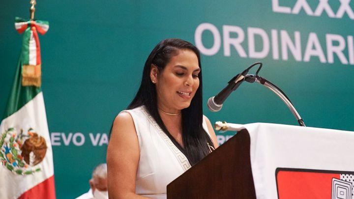 Asiste Mirtha Villalvazo a la 82 asamblea del sindicato de trabajadores de radio y TV
