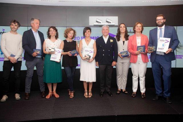 Los finalistas de Premios Accenture entre los que se encuentra Inmaculada López