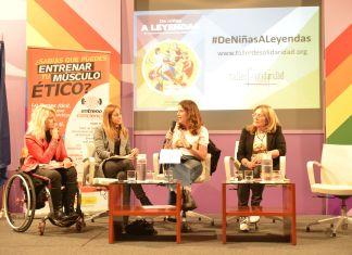 """Presentación del libro """"De niñas a leyendas. 25 mujeres deportistas que han hecho historia"""""""