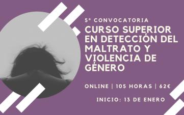Curso detección maltrato y violencia de género.
