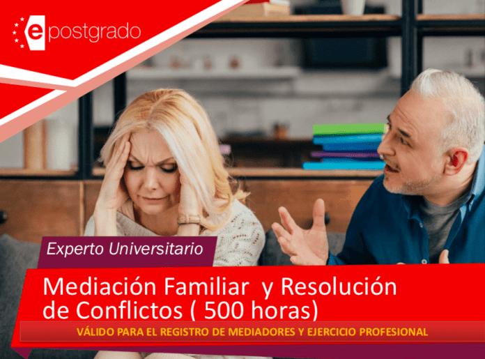 PROGRAMA DE MEDIACIÓN FAMILIAR Y RESOLUCIÓN DE CONFLICTOS