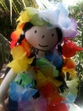 Neste carnaval, me vesti de árvore florida!