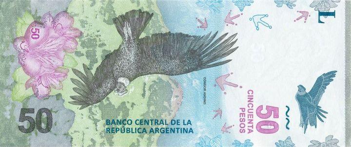 billete de 50 pesos