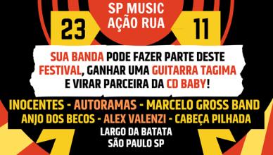 Festival SP Music Ação Rua