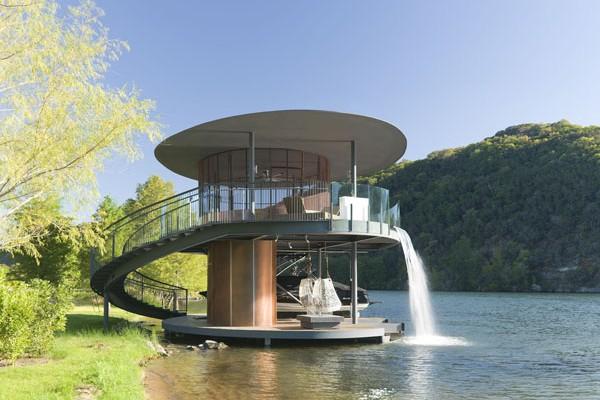 Bercy Chen Proyecta Boat House, Una Vivienda Circular Con