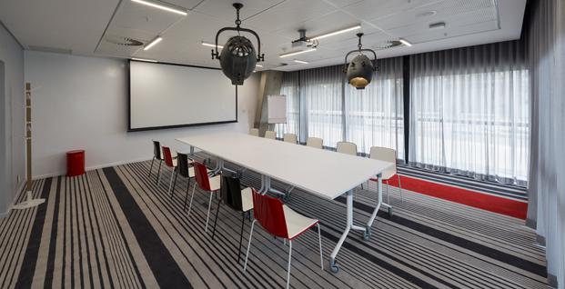 sala reuniones Radisson RED hotel millenial diariodesign