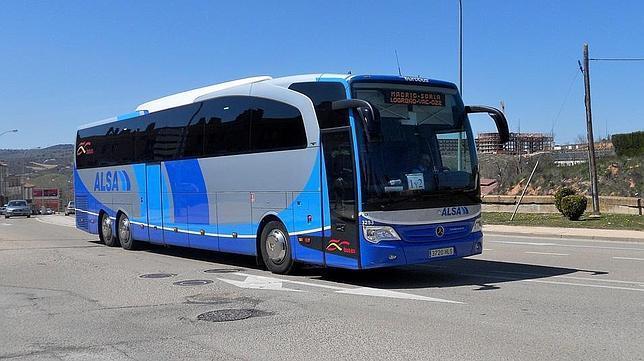 ALSA, Autobús