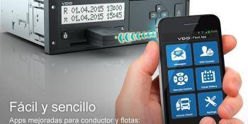 VDO Continental, nuevos, tacógrafos, 4.0, permisos, U.E,. junio, empresas,
