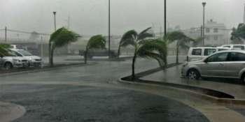44, provincias, riesgo, vientos, fuertes, lluvias, oleaje,