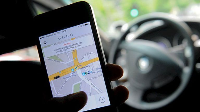 Uber, deja, servicio, prestar, Barcelona, sector, VTC,
