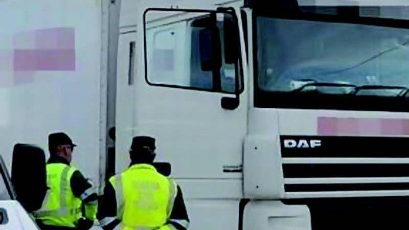 Guardia Civil, Galicia, agentes, control, transporte,