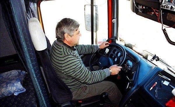 jubilación, camioneros, profesión, sector, jóvenes, trabajadores, transporte,