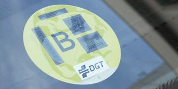 etiquetas, DGT, sirven, multas, números, modelos, vehículos, clases,.