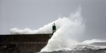 alerta, norte, noroeste, peninsular, fuertes, vientos, tierra, mar,